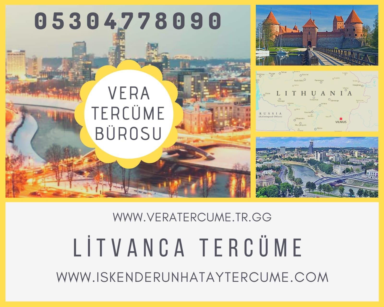 Litvanca Tercüme Hizmeti