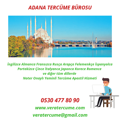 Adana Tercüme Bürosu