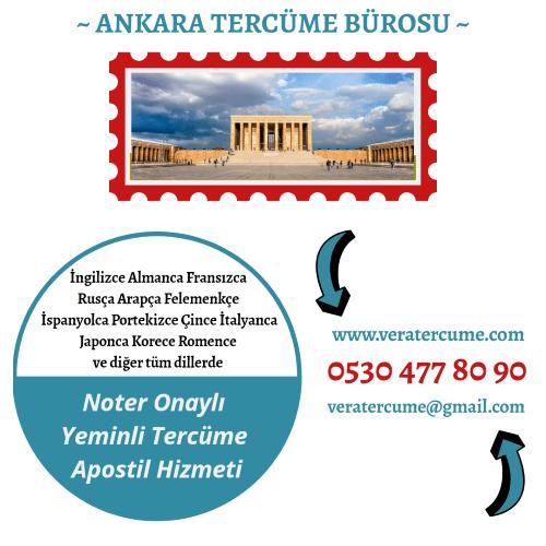 Ankara Tercüme Bürosu