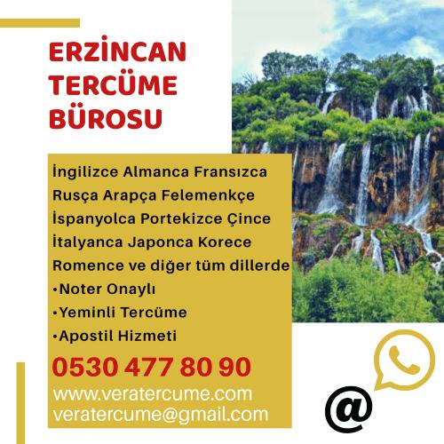 Erzincan Tercüme Bürosu