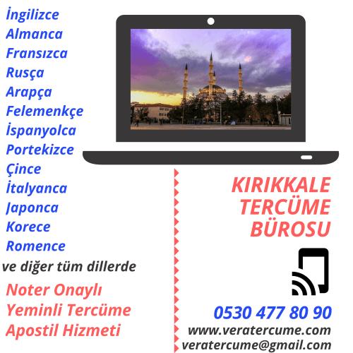 Kırıkkale Tercüme Bürosu