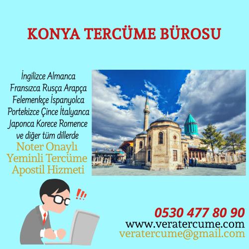 Konya Tercüme Bürosu