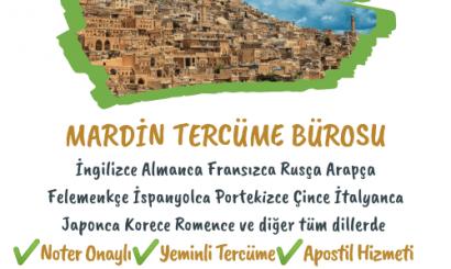 Mardin Tercüme Bürosu