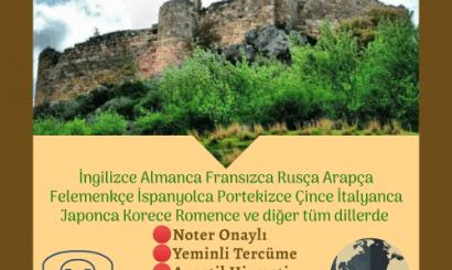 Osmaniye Tercüme Bürosu
