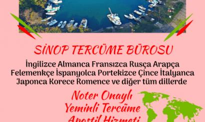 Sinop Tercüme Bürosu