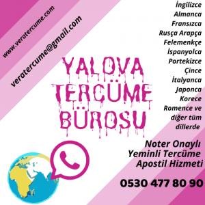 Yalova Tercüme Bürosu