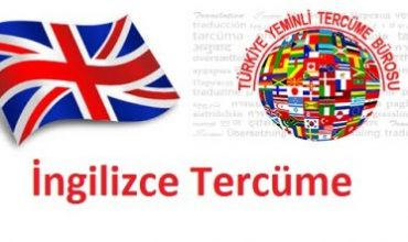 İngilizce Tercüme Hizmeti