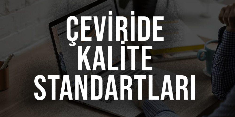 Çeviride Kalite Standartları