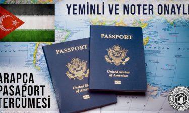 Arapça Pasaport Tercümesi