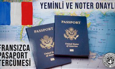 Fransızca Pasaport Tercümesi