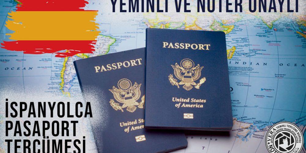 İspanyolca Pasaport Tercümesi