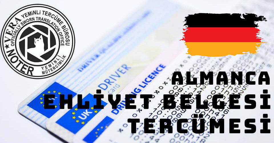 Almanca Ehliyet Belgesi Tercümesi